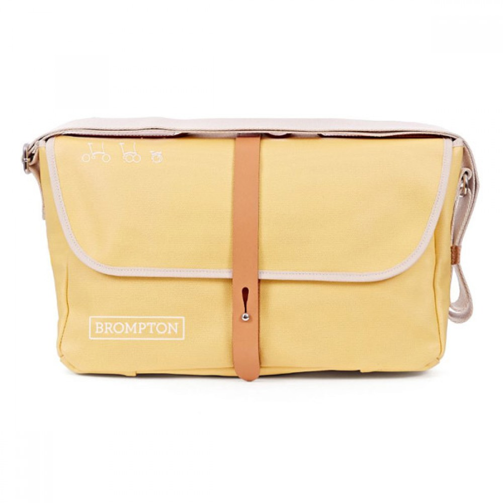 Brompton Shoulder Bag YELLOW c/w Cover & frame