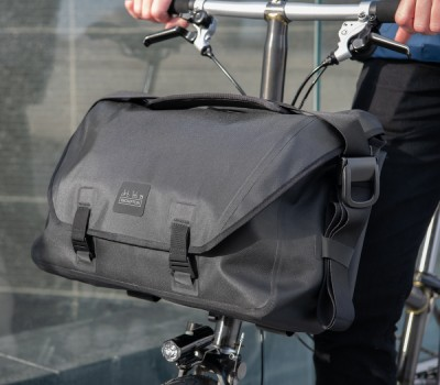 Brompton Metro Waterproof Bag Large in Black