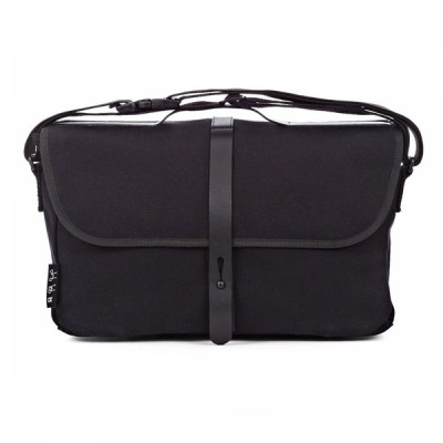 Brompton Shoulder Bag BLACK c/w Cover & frame