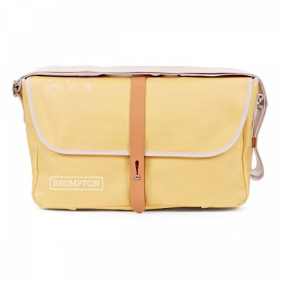 Brompton Shoulder Bag, YELLOW, c/w Cover & frame